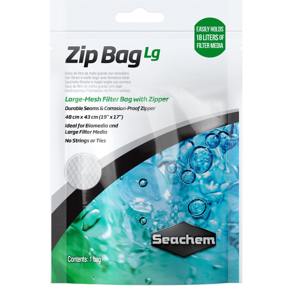 Мешок для наполнителя Seachem Zip Bag L 48х43 см