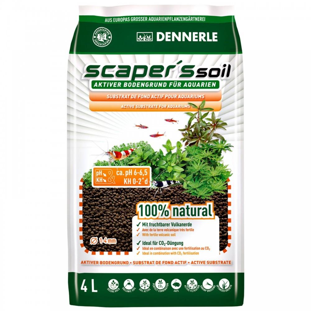 Питательный грунт Dennerle Scapers Soil 4 л
