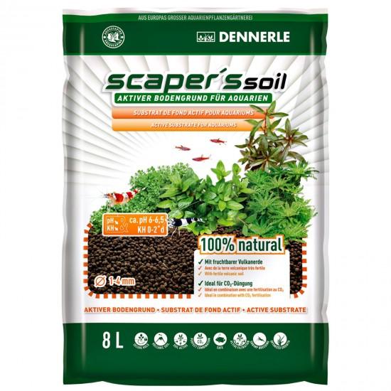 Питательный грунт Dennerle Scapers Soil 8 л