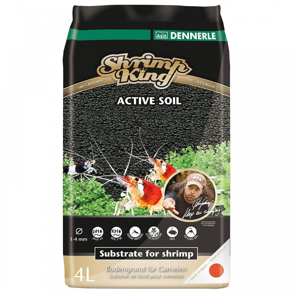 Питательный грунт Dennerle Shrimp King Active Soil 4 л