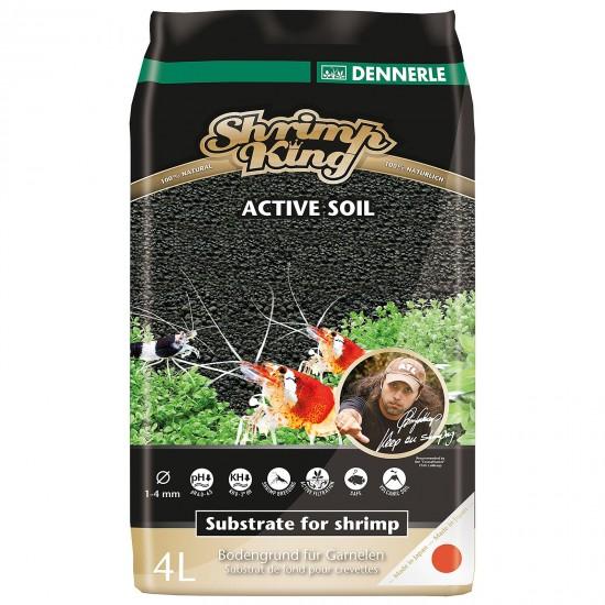 Питательный грунт Dennerle Shrimp King Active Soil 4л