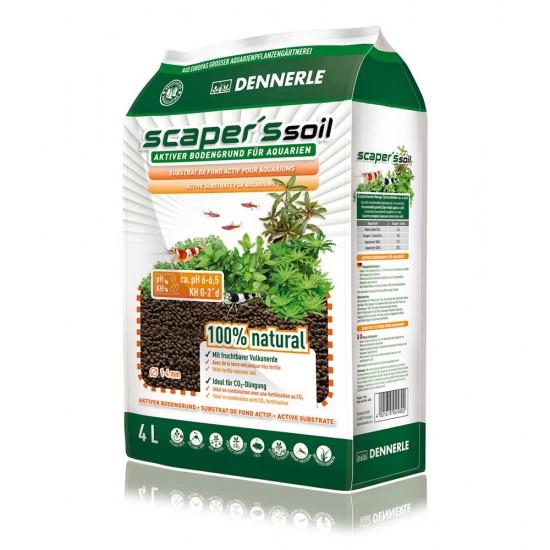 Питательный грунт Dennerle Scapers Soil 4л