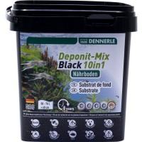 Питательный субстрат Dennerle DeponitMix Professional Black 10in1 2,4 кг