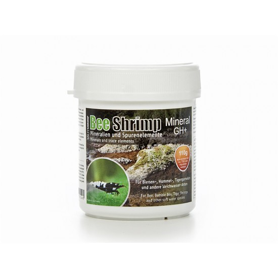 Минеральная соль SaltyShrimp Bee Shrimp Mineral GH+, 110g