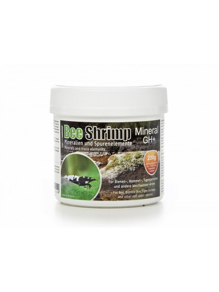 Минеральная соль SaltyShrimp Bee Shrimp Mineral GH+, 230g