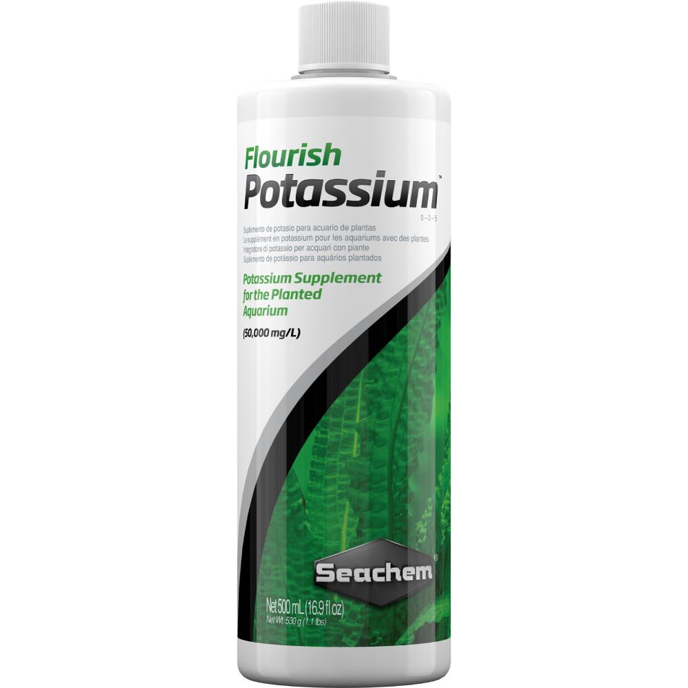 Удобрение Seachem Flourish Potassium 500 мл