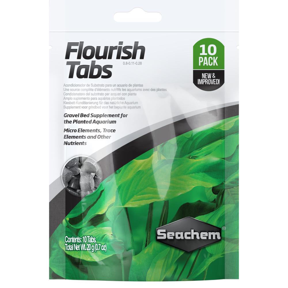 Удобрение в таблетках Seachem Flourish Tabs 10 шт
