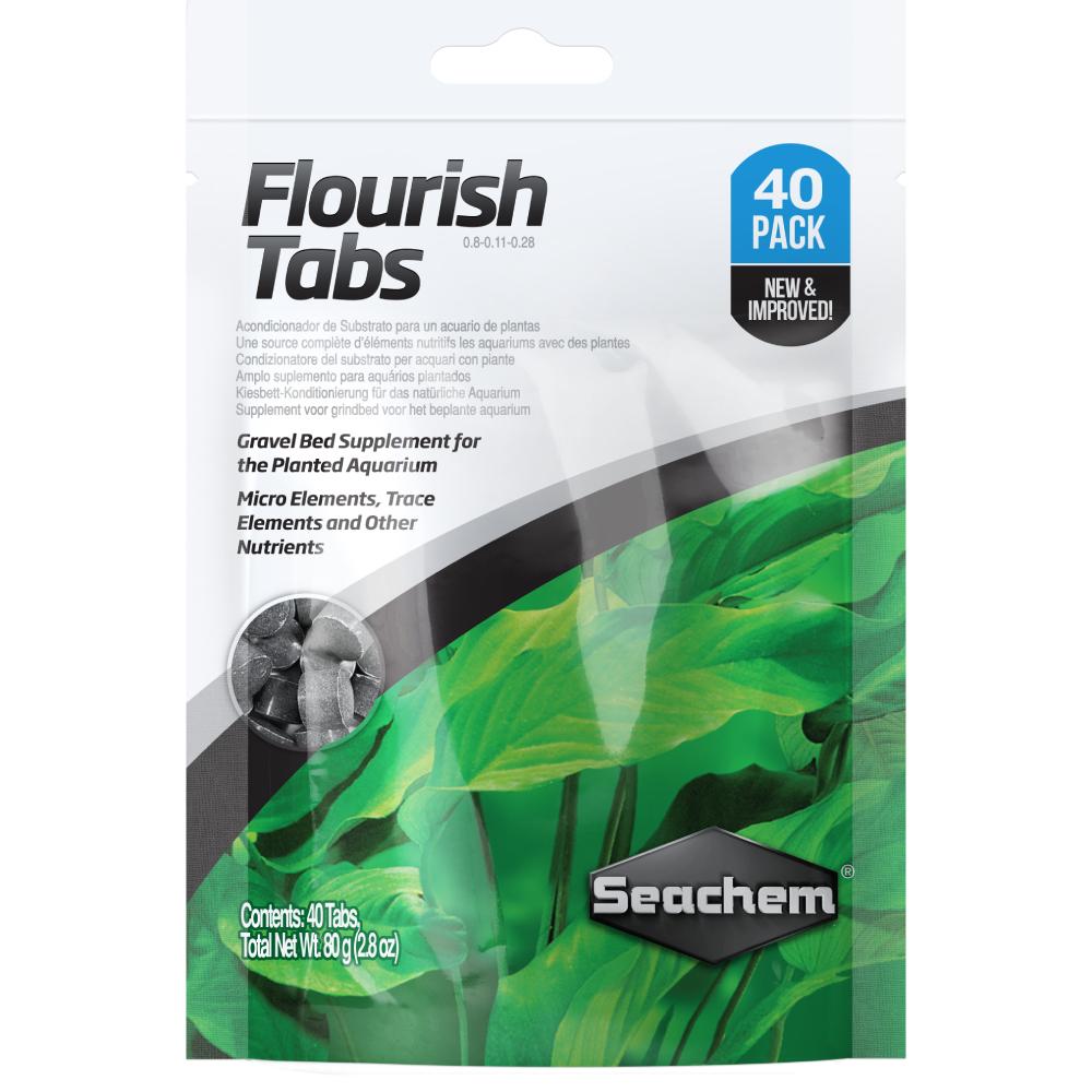Удобрение в таблетках Seachem Flourish Tabs 40 шт